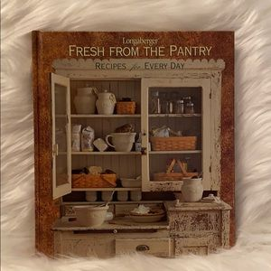 Longaberger Fresh From the Pantry Cookbook